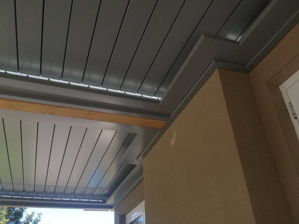 Rain Proof Openable Sun Louvres