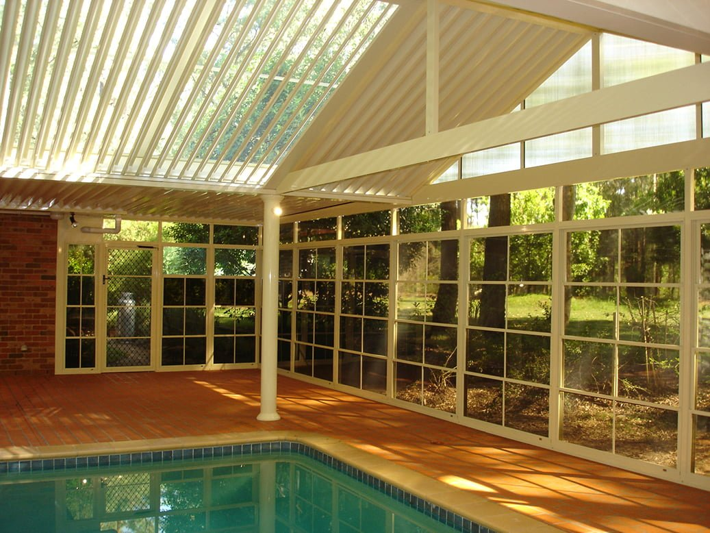 Pool Area Opening Roof System