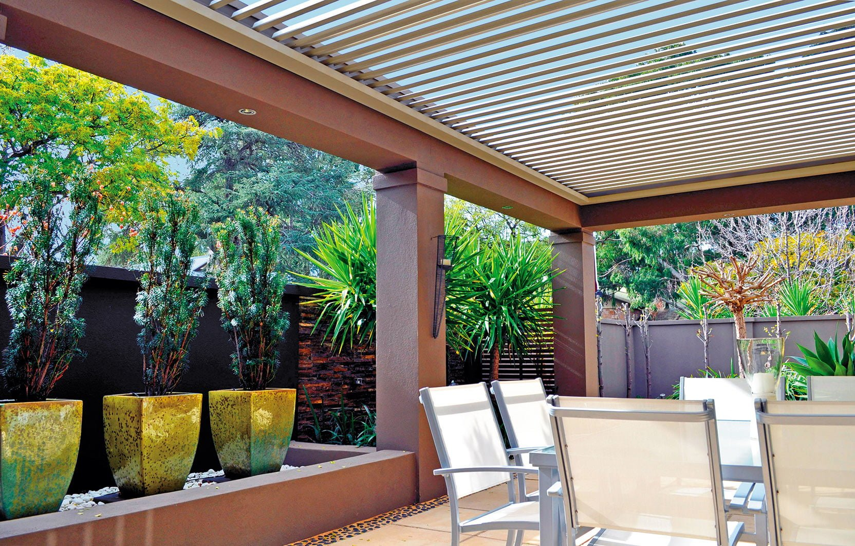 Opening Roof Outdoor Area
